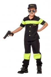 Politie kostuum look