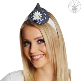 Mini Seppl Hoedje op haarband | origineel