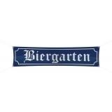 Biergarten banner 180x40 cm