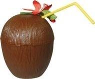 Hawai Coconut Cup met bloem