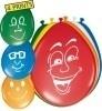 Ballonnen Happy Face
