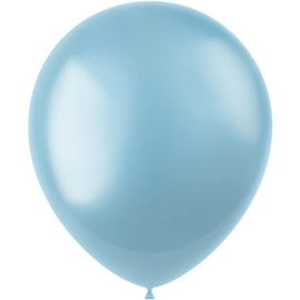 Ballonnen Radiant Sky Blue Metallic