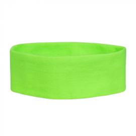 Retro Hoofdband   neon groen