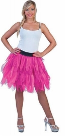Fancy tule rok fluor pink