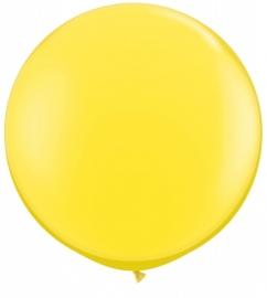 Ballonnen 90cm jumbo geel