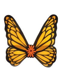Vleugels vrolijk oranje