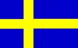 Vlag Zweden 90x150