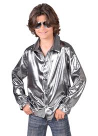 Zilveren blouse kinderen