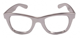 Partybril zilver