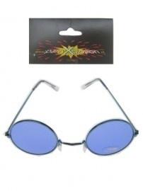 Uilebril blauw glas