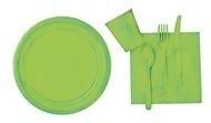 Licht groene feest servetten