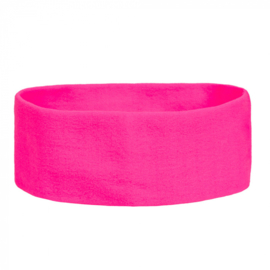 Retro Hoofdband   neon pink
