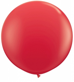 Ballonnen 90cm jumbo rood