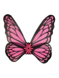 Vleugels vrolijk roze