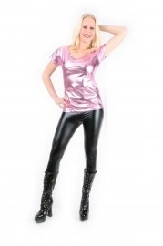 Roze bling t-shirt