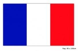 Vlag Frankrijk 90x150