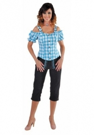 Zeer luxe tiroolse blouse
