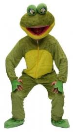 Kikker mascotte pro kostuum