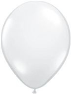 Kwaliteitsballon standaard - wit - 10 stuks