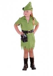 Robin hood meisjes kostuum