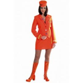 stewardess oranje OP=OP