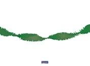 Groene crepe slinger