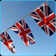 """Britse vlaggenlijn """"Union Jack"""""""