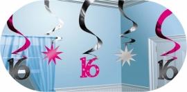 Sweet sixteen hangdecoratie
