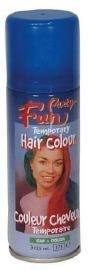 Haarspray neon blauw