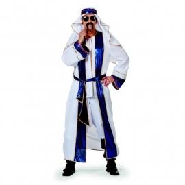 Sjeik De luxe blauw/wit