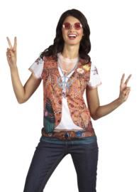 3D t shirt hippie