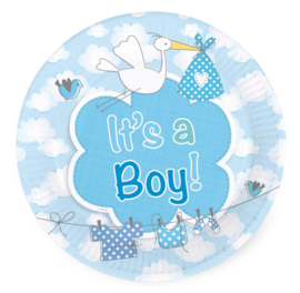 Bordjes geboorte jongen luxe