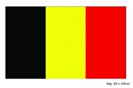 Vlag Belgie 90x150