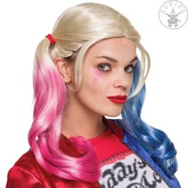 Harley Quinn pruik
