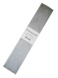 Zilver crepe papier