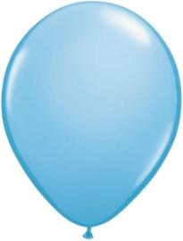 Ballonnen 13cm mini lichtblauw