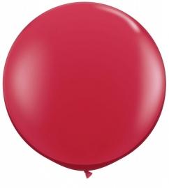 Ballonnen 90cm jumbo ruby red