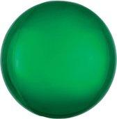 Folieballon Orbz groen (40cm)