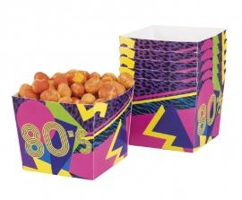 Bowls 80's party doosjes