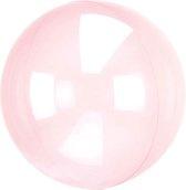 Folieballon Clearz donkerroze (40cm)