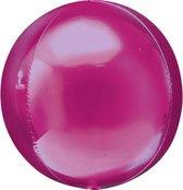 Folieballon Orbz roze (40cm)