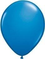 Kwaliteitsballon standaard - donkerblauw - 10 stuks