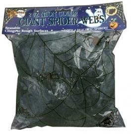 Spinneweb zwart