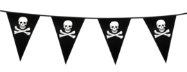 Stoere piraten vlaggenlijn