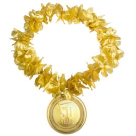 Hawaiikrans 50 jaar goud