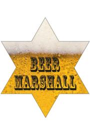 Bier sheriff ster