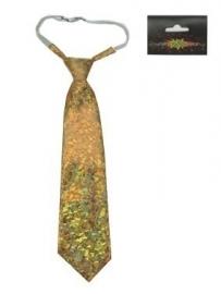 Gouden stropdas hologram