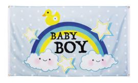 Gevelvlag geboorte baby boy