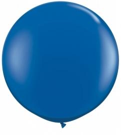 Ballonnen 90cm jumbo sapphire blue