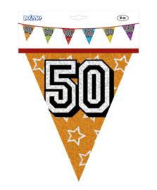 Vlaggenlijn holografisch 50 jaar